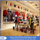 Factory OEM Project wooden Clothing Stores For Boys,Boys Clothing Stores with custom big logo आपूर्तिकर्ता