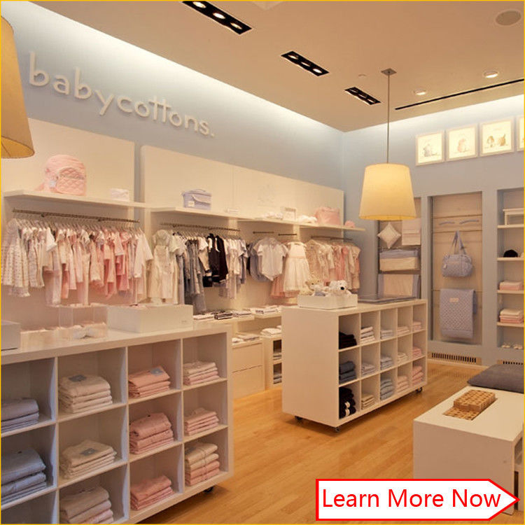 New China hot sale fashion baby clothing stores,shop display fitting clothing stores आपूर्तिकर्ता