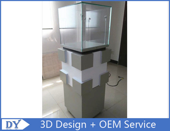 Manufacturer supplier modern simple style glass display cabinets with custom size आपूर्तिकर्ता